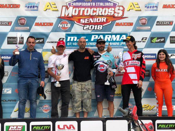 Nelle news, Massimiliano riccio 2 posto  mx1 veteran campionato italiano