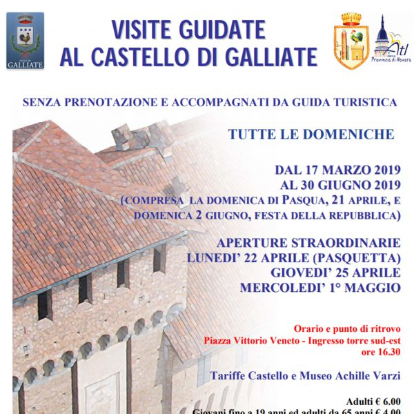 Riprendono le visite guidate in Castello