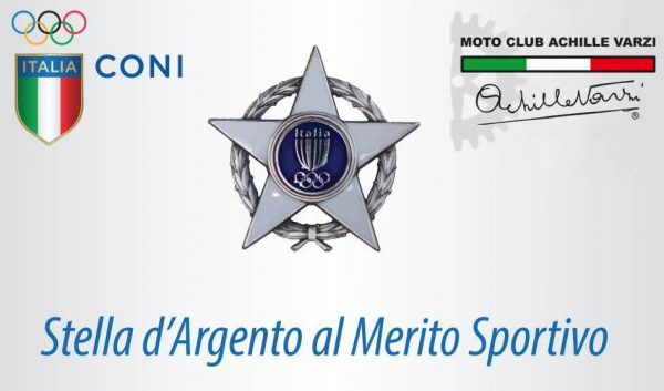 CONI, al Moto Club Achille Varzi di Galliate conferita la Stella d'Argento al merito sportivo per l'anno 2019